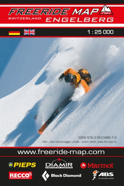 Freeride Map Engelberg