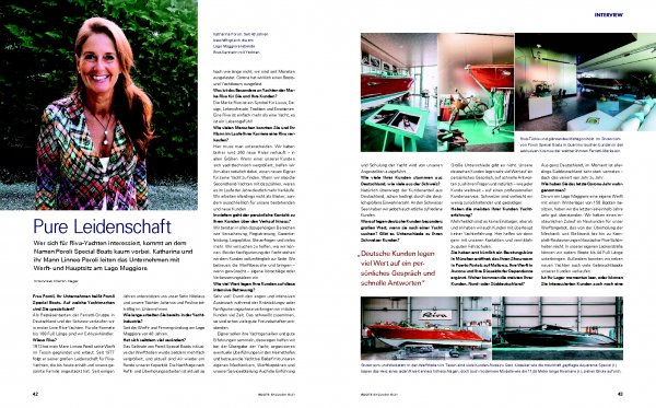 Poroli Special Boats Interview