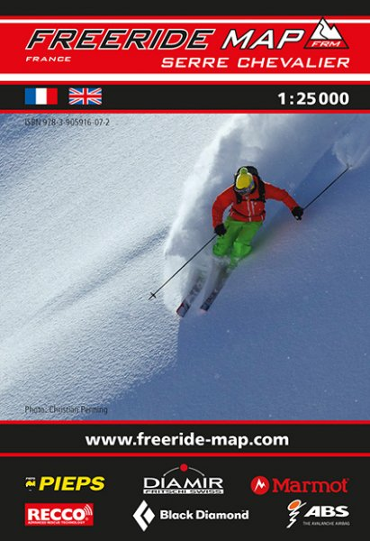 Freeride Map Serre Chevalier