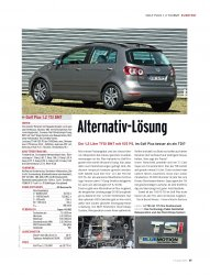 KURZTEST Golf Plus 1.2 TSI BMT 105 PS