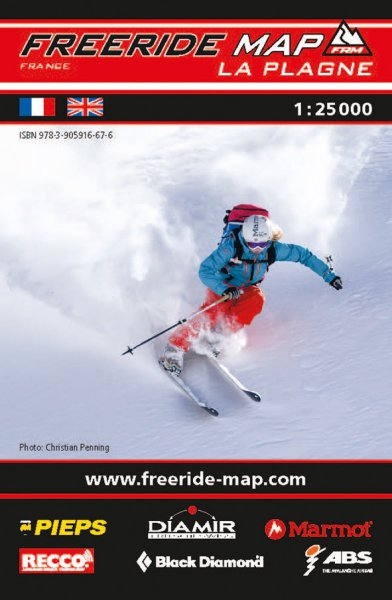 Freeride Map La Plagne