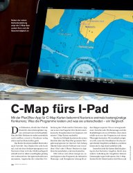 Software: C-Map für I-Pad