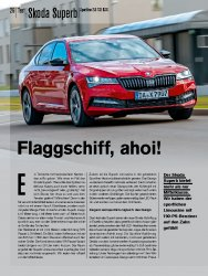 Test: Skoda Superb Sportline 2.0 TSI DSG
