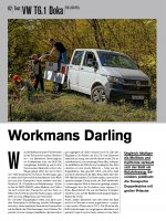 Test: VW T6.1 Doka TDI (150 PS)