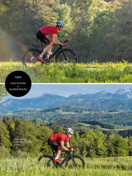 Canyon Aerorad Disc vs. Specialized Venge Disc