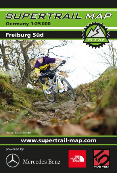 Supertrail Map Freiburg Süd