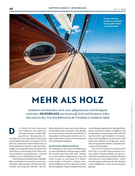 Decksbelag: Alternativen zum Holzdeck
