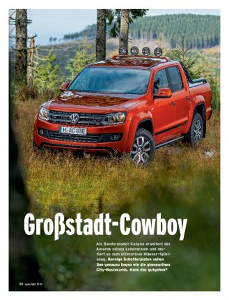 Test: Amarok Canyon 2.0 TDI 180 PS