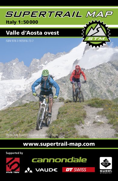 Supertrail Map Valle d`Aosta Ovest