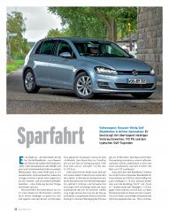 Test: Golf 1.6 TDI BlueMotion 110 PS