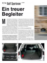 Test: Golf Sportsvan 1.6 TDI BMT